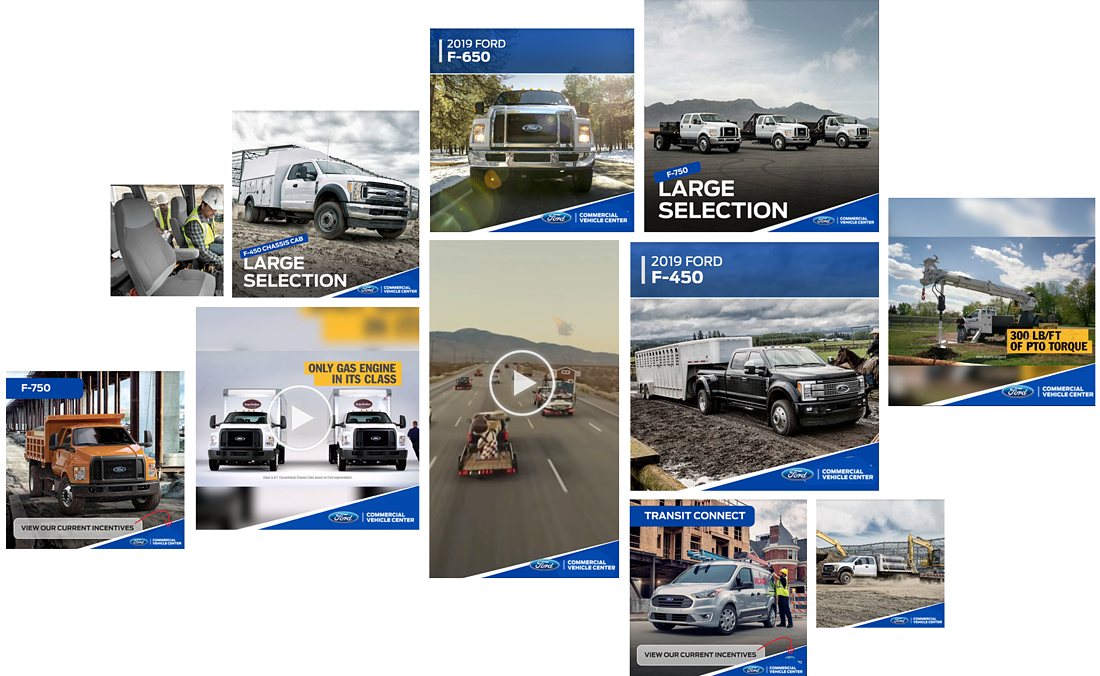 80+ New Ford Commercial Vehicle Ads!